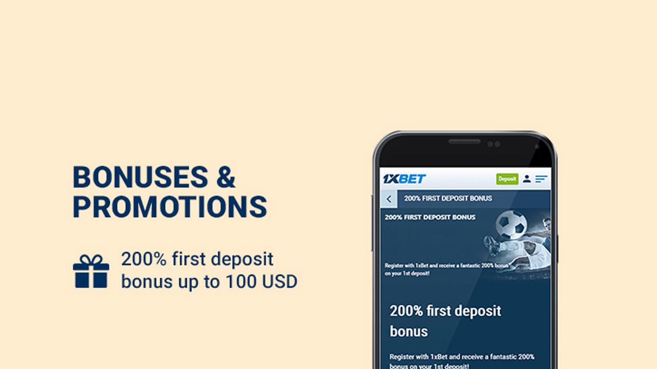 Registration through 1xBet Mobile App